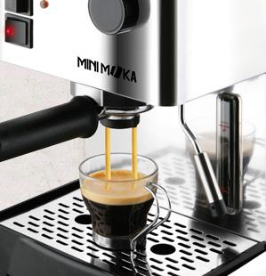The coffee-maker part by part with Minimoka.